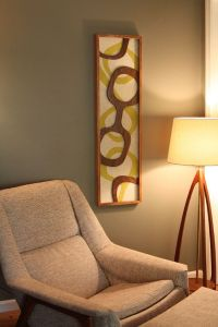 Mid Century / Danish Modern WITCO Styled Wall Art