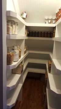 Under the stairs pantry, small pantry, white pantry ...