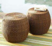 side table opt. Palmetto All-Weather Wicker Accent Table ...