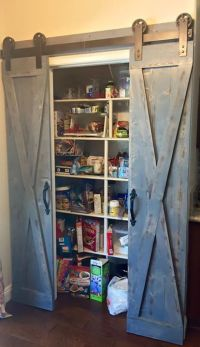 Pantry barn doors | Western Decor | Pinterest | Barn Doors ...
