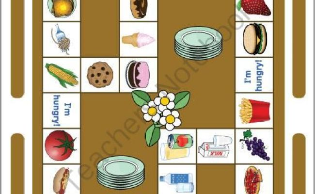 Food Game Esl And Game On Pinterest