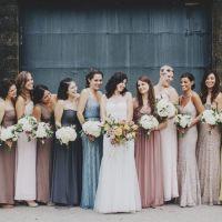Eclectic Warehouse Wedding Inspiration { Slate gray,dusty ...