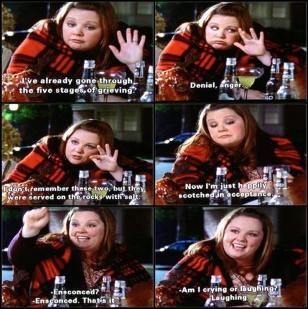 Five stages of grieving Sookie | s3 ep9 Gilmore girls: