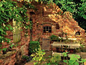 alte ziegelsteinmauern im garten alte steinmauern im garten best, Garten und erstellen