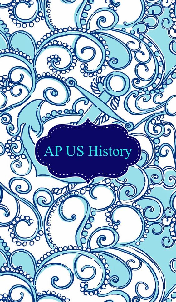 Awesome Cute Binder Wallpapers That Are Printable Ap Us History Binder Cover Binder Covers Pinterest