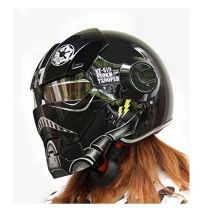 Custom Motorcycle Helmet Conversions - How to make an Iron ...