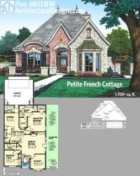 French country house plans, Cottages and House plans on ...