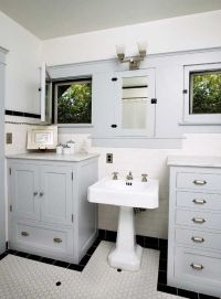 Craftsman bathroom, Medicine cabinets and Bungalows on ...
