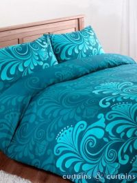 Teal, Teal comforter and Teal bedding on Pinterest