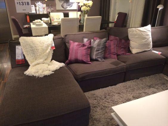 Kivik Sectional Put Together Ikea  Living Room