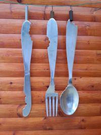 CUTLERY SET,Fork Knife Spoon Wall Art,Cutlery Wall Art ...
