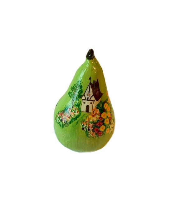 Green Pear Home Décor Decorative Art Hand Made Hand By Labostyle