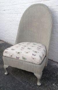 Lloyd loom nursing chair   Upcycling ideas for loom style ...