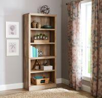 Better Homes and Gardens Crossmill 5-Shelf Bookcase ...