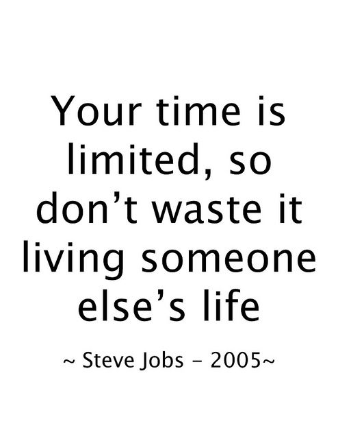 Steve jobs, Life and Quotes on Pinterest