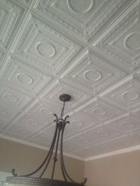 Ceiling tiles, Styrofoam ceiling tiles and Ceilings on