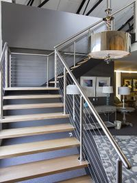 Cromwell Interior Design | Stair | Industrial | Staircase ...