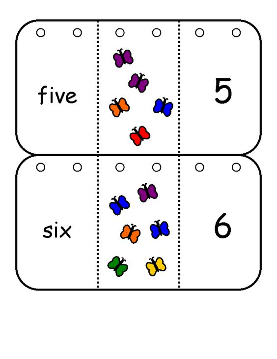 Number words, Flip books and Numbers on Pinterest