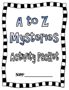 Activities, Mystery books and Book series on Pinterest