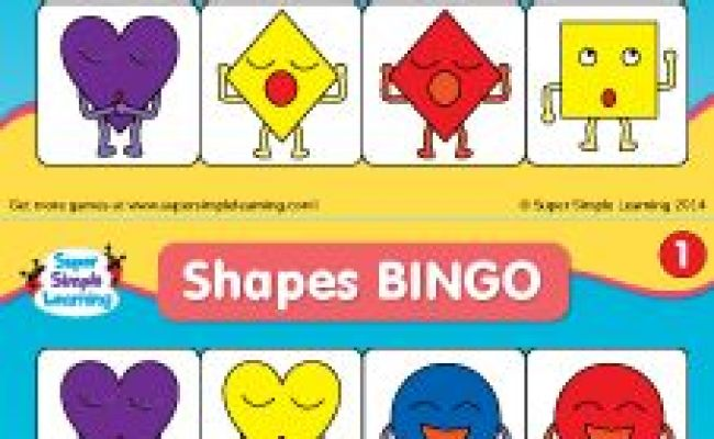 Bingo Kindergarten And Something Blue On Pinterest