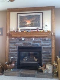 Gas fireplaces, Stone tiles and Grout on Pinterest