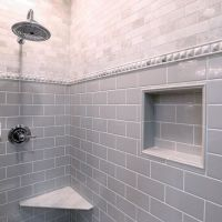 The perfect Grey subway tile - Imperial Ice Grey Gloss ...