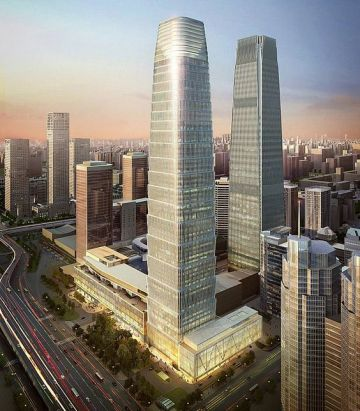 Render of China World Trade Center 3