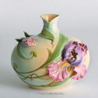 Alphonse Mucha's Art Nouveau Iris Lady::
