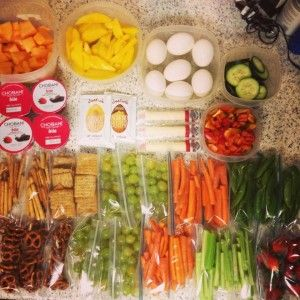 Healthy Food Prep for Travel and Long Road Trips with Kids