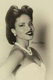 black hairstyles .1930 1940s