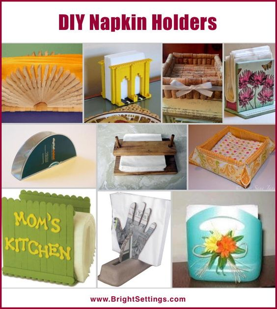 DIY Napkin Holders