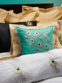 Bedding inspiration - (expensive) Peacock by Anali Bedding ...