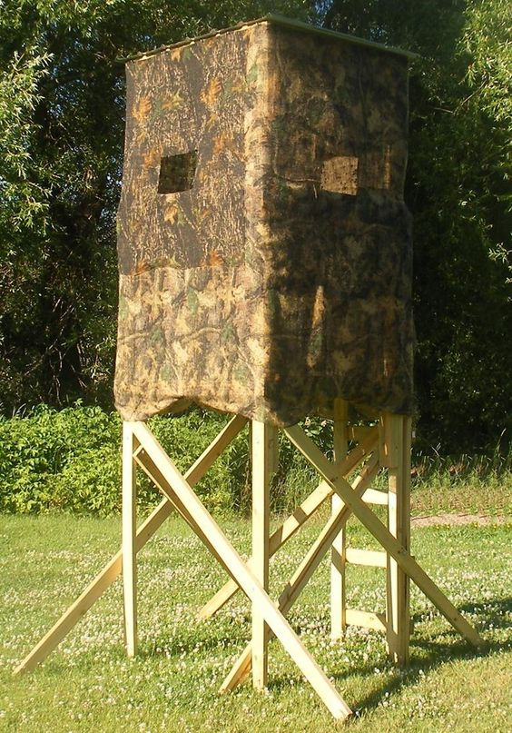 Homemade Box Deer Hunting Blind Building Plans Ill make