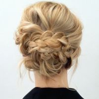 Updo, Braided updo and Up dos on Pinterest