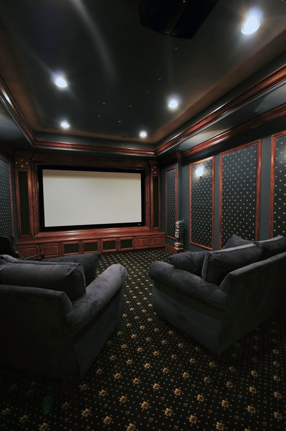 Home theaters Luxury homes and Theater on Pinterest