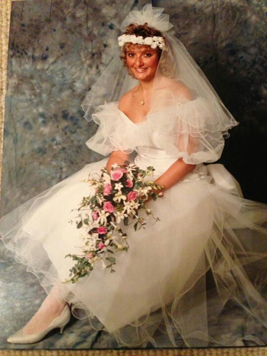 Pronuptia Wedding Dress 1989 VIntage Wedding Dresses