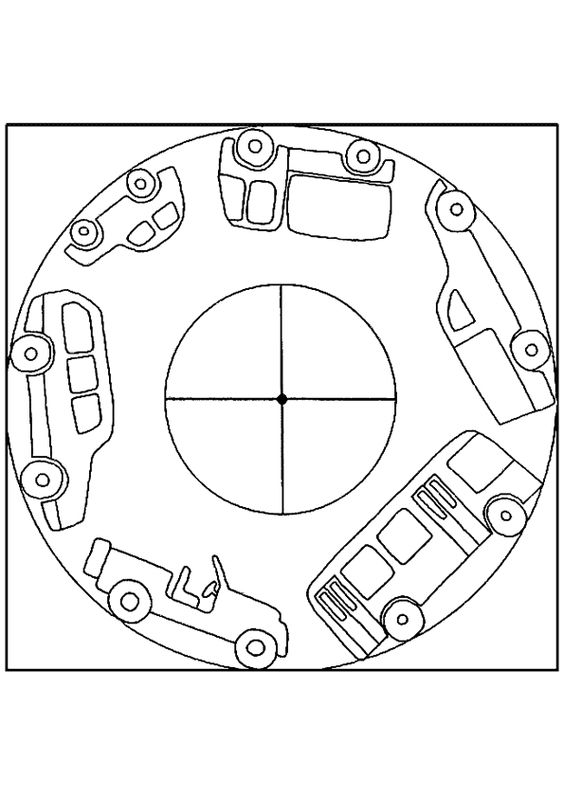 Race Car Number 8 Coloring Page