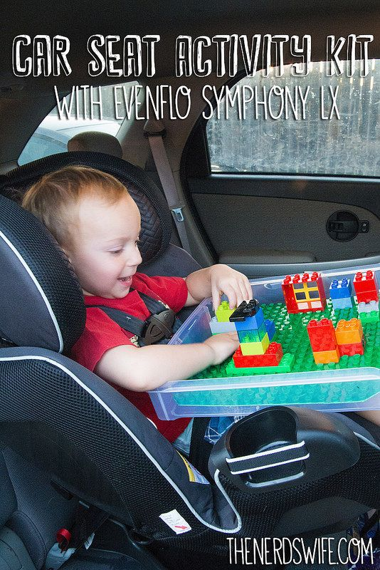 Car seats Lego tray and Lego on Pinterest