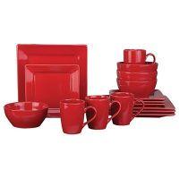 Living Colors 16-Piece Dinnerware Set at Big Lots ...