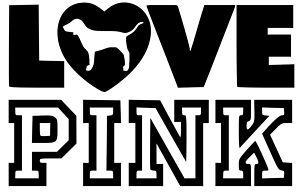 Download Details about Victoria's Secret LOVE PINK Heart Dog Car ...