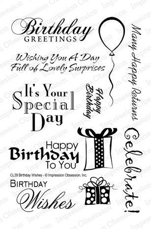Impression Obsession Rubber Stamps Clear Stamp Sets