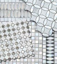 Glass mosaic tile - THE WATER GLASS COLLECTION - SICIS ...