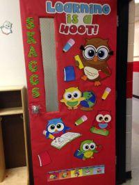 Owl Theme Classroom Door | Kindergarten ideas! | Pinterest ...