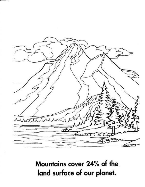 coloring pages nature and coloring on pinterest