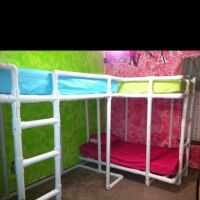 canopy bed from pvc pipe ...