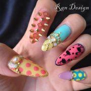 ran kowatari nails studded
