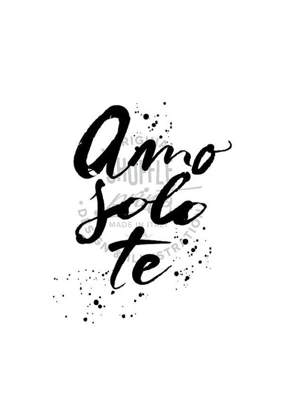 Italian quotes, Quotes in english and I love you on Pinterest