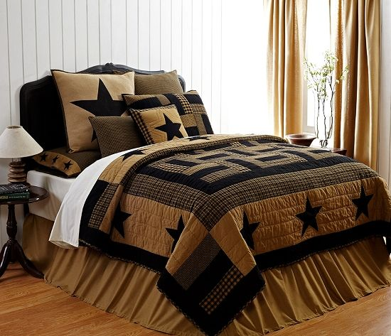 PrimitiveCountryBedding Primitive Country Quilted