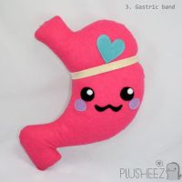 Gastric Bypass plush toy / comfort pillow RNY kawaii