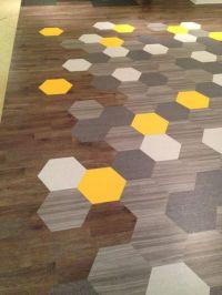 Amtico vinyl hex floor tiles from Mannington USA. # ...